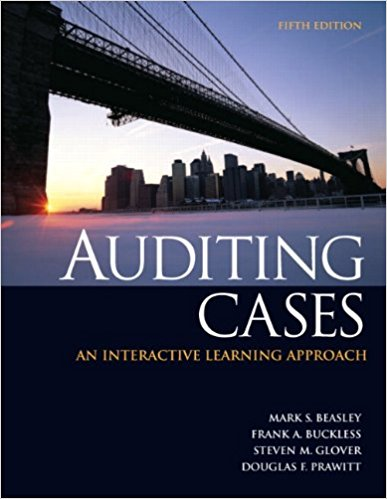 solution manual for Auditing Cases: An Interactive Learning Approach 5th Edition的图片 1