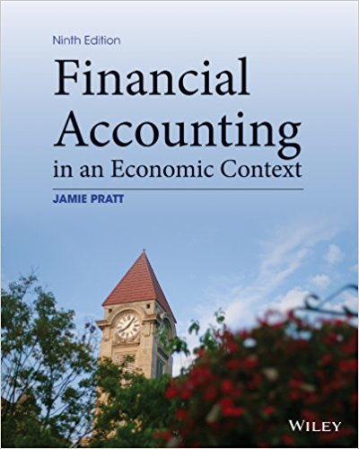 test bank for Financial Accounting in an Economic Context 9th edition的图片 1
