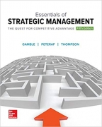solution manual for Essentials of Strategic Management: The Quest for Competitive Advantage 5th Edition