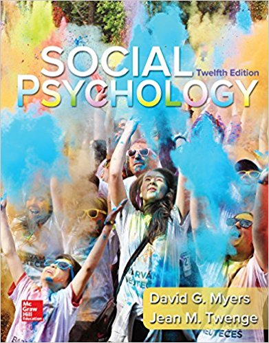 test bank for Social Psychology 12th Edition的图片 1