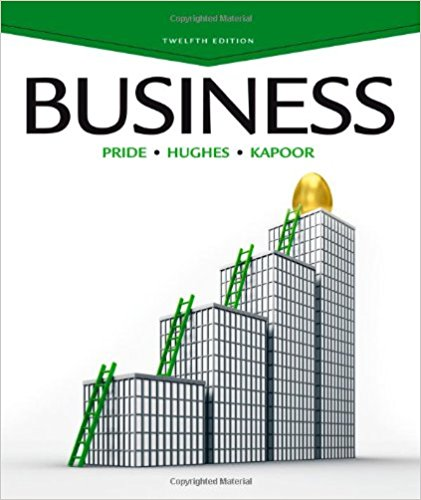 test bank for Business 12th Edition by William M. Pride的图片 1