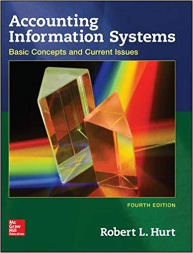 solution manual for Accounting Information Systems 4th Edition的图片 1