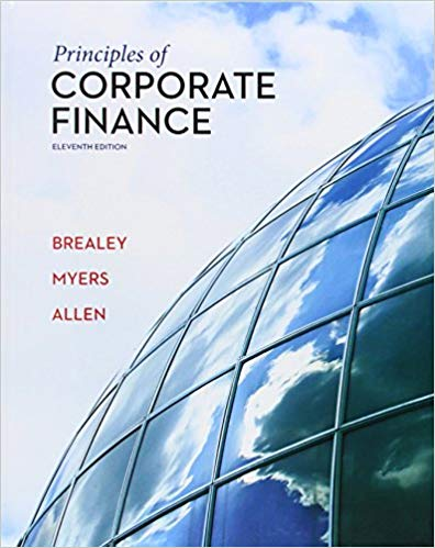 solution manual for Principles of Corporate Finance 11th Edition的图片 1