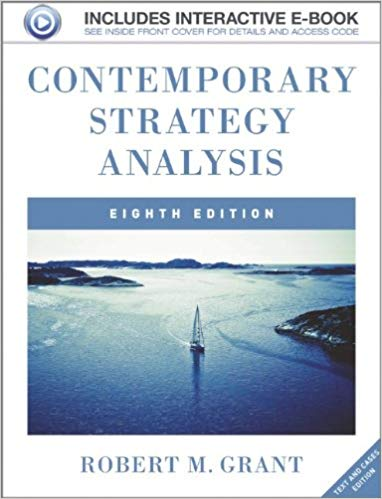 test bank for Contemporary Strategy Analysis: Text and Cases 8th Edition的图片 1