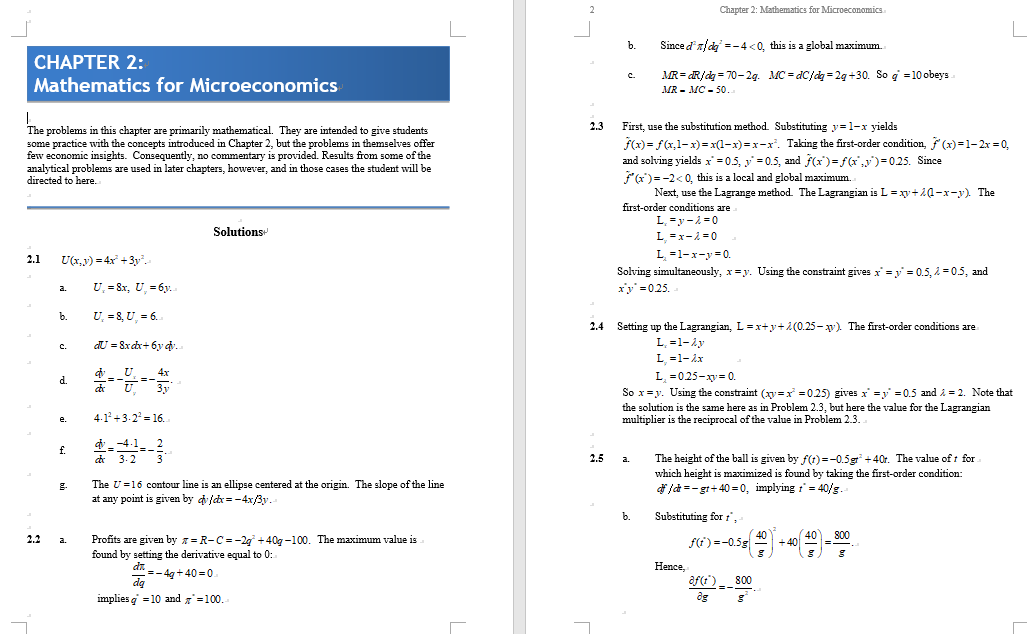 solution manual for Microeconomic Theory: Basic Principles and Extensions 11th Edition的图片 3