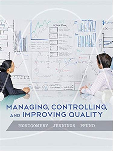 solution manual for Managing, Controlling, and Improving Quality 1st Edition的图片 1
