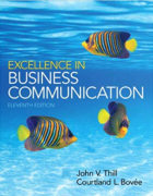 test bank for Excellence in Business Communication 11th Edition
