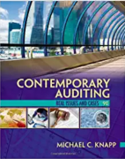 solution manual for Contemporary Auditing 9th Edition