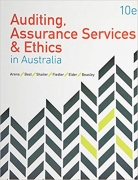 test bank for Auditing Assurance Services and Ethics in Australia 10th Edition