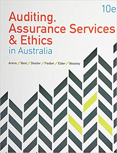 solution manual for Auditing Assurance Services and Ethics in Australia 10th Edition的图片 1
