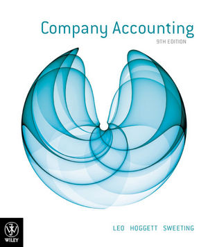 solution manual for Company Accounting 9th Edition的图片 1