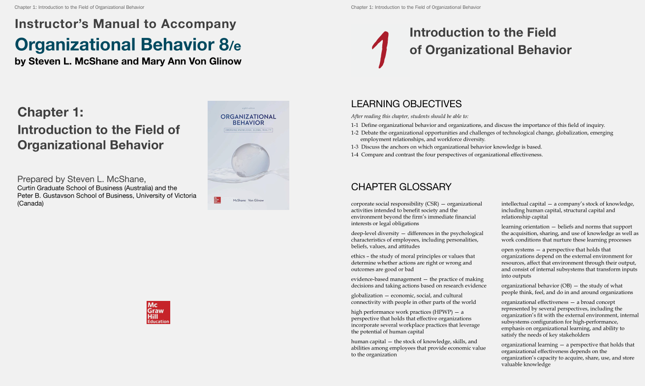 solution manual for Organizational Behavior 8th Edition的图片 3