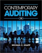 solution manual for Contemporary Auditing 10th Edition