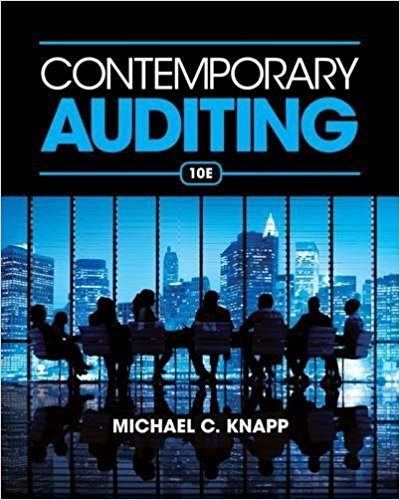 solution manual for Contemporary Auditing 10th Edition的图片 1