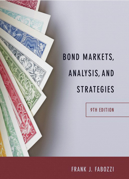 solution manual for Bond Markets, Analysis, and Strategies 9th Edition的图片 1
