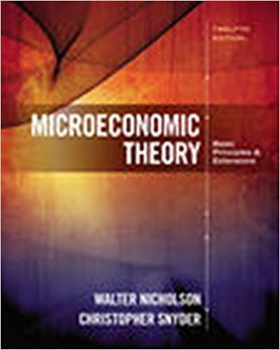 solution manual for Microeconomic Theory: Basic Principles and Extensions 12th Edition的图片 1