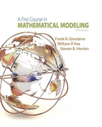solution manual for A First Course in Mathematical Modeling 5th Edition