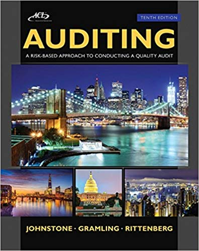 test bank for Auditing: A Risk Based-Approach to Conducting a Quality Audit 10th edition的图片 1