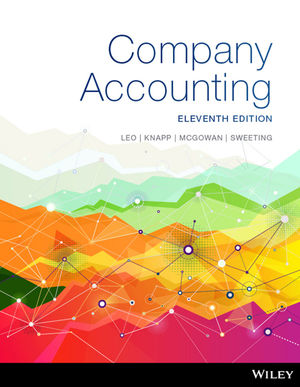 test bank for Company Accounting 11th Edition的图片 1
