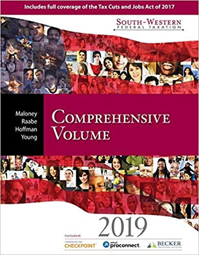 test bank for South-Western Federal Taxation 2019: Comprehensive 42nd Edition的图片 1