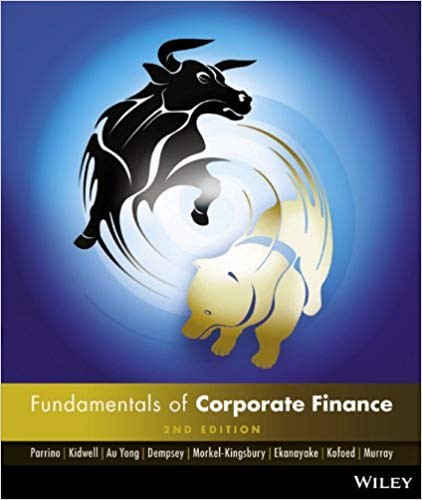 solution manual for Fundamentals of Corporate Finance Australasian 2nd edition的图片 1