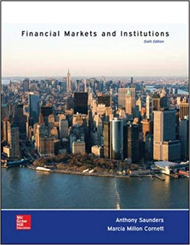 solution manual for Financial Markets and Institutions 6th Edition的图片 1