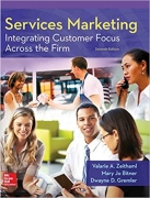 solution manual for Services Marketing: Integrating Customer Focus Across the Firm 7th Edition