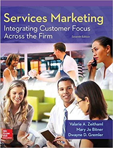 solution manual for Services Marketing: Integrating Customer Focus Across the Firm 7th Edition的图片 1