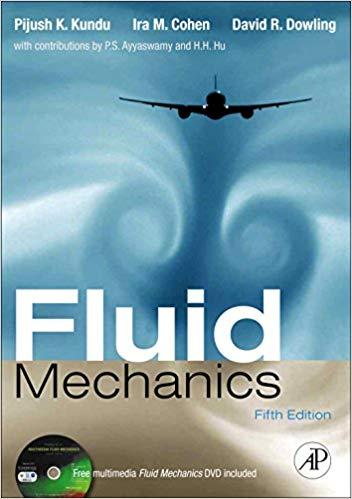 solution manual for Fluid Mechanics 5th Edition的图片 1