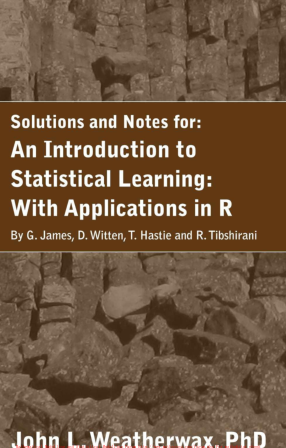 solution manual for An Introduction to Statistical Learning: with Applications in R by G. James的图片 1