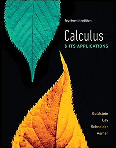 solution manual for Calculus and Its Applications 14th Edition的图片 1