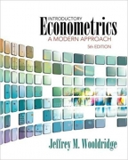 solution manual for Introductory Econometrics A Modern 5th edition