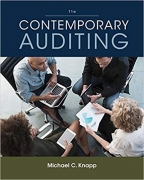 solution manual for Contemporary Auditing 11th Edition