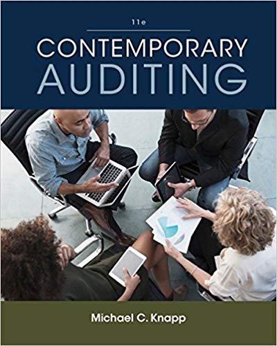 solution manual for Contemporary Auditing 11th Edition的图片 1