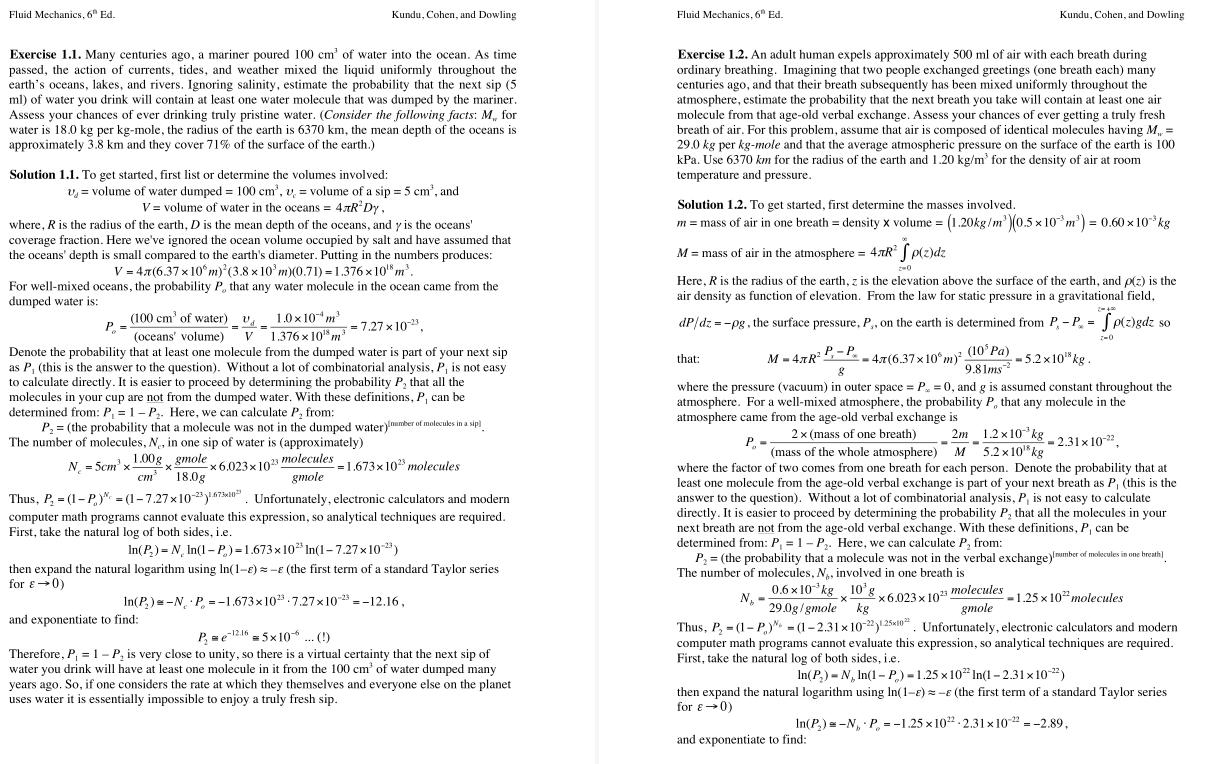 solution manual for Fluid Mechanics 6th edition的图片 3