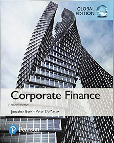 solution manual for Corporate Finance 4th Global Edition的图片 1