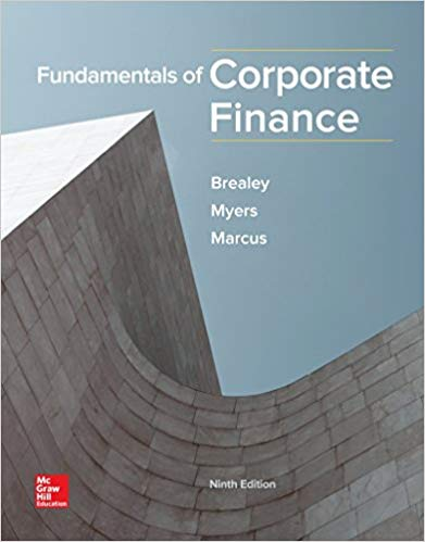 test bank for Fundamentals of Corporate Finance 9th Edition by Brealey的图片 1
