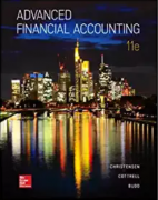solution manual for Advanced Financial Accounting 11th Edition