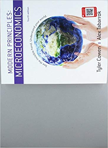 solution manual for Modern Principles: Microeconomics 4th Edition的图片 1