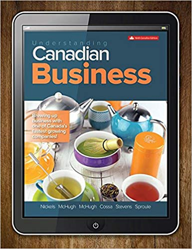 test bank for Understanding Canadian Business 9th Canadian Edition的图片 1