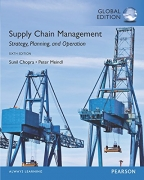 solution manual for Supply Chain Management: Strategy, Planning, and Operation 6th Global Edition