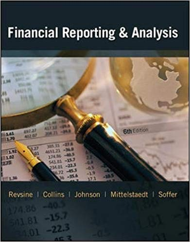 solution manual for Financial Reporting and Analysis 6th Edition的图片 1