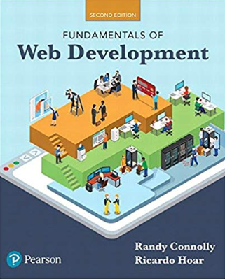 solution manual for Fundamentals of Web Development 2nd Edition的图片 1