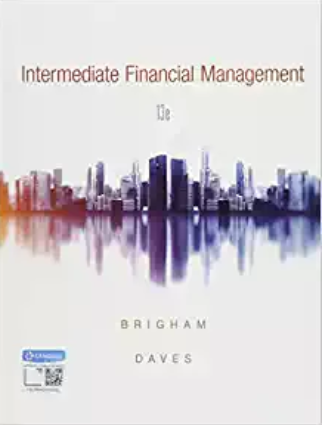 test bank for Intermediate Financial Management 13th Edition的图片 1
