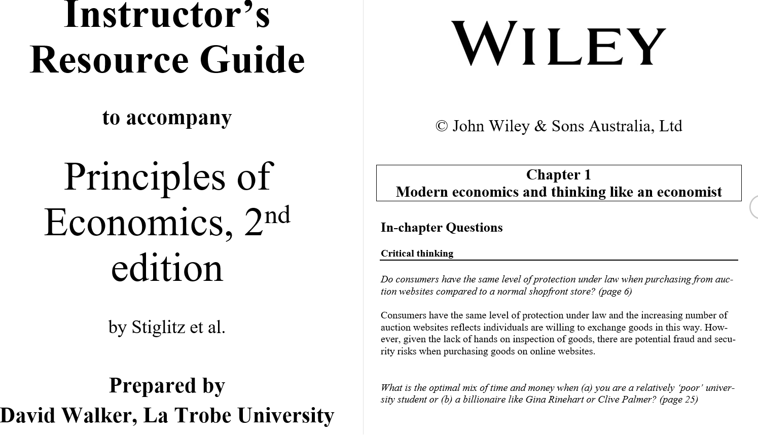 solution manual for Principles of Economics 2nd Australian Edition的图片 3