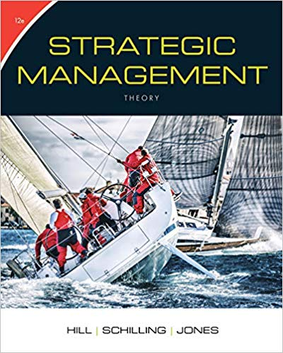 solution manual for Strategic Management: Theory: An Integrated Approach 12th Edition的图片 1