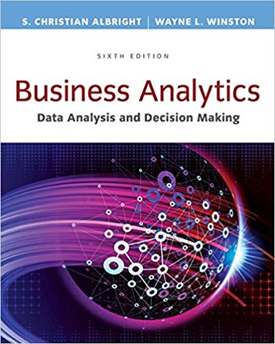 test bank for Business Analytics: Data Analysis & Decision Making 6th Edition的图片 1