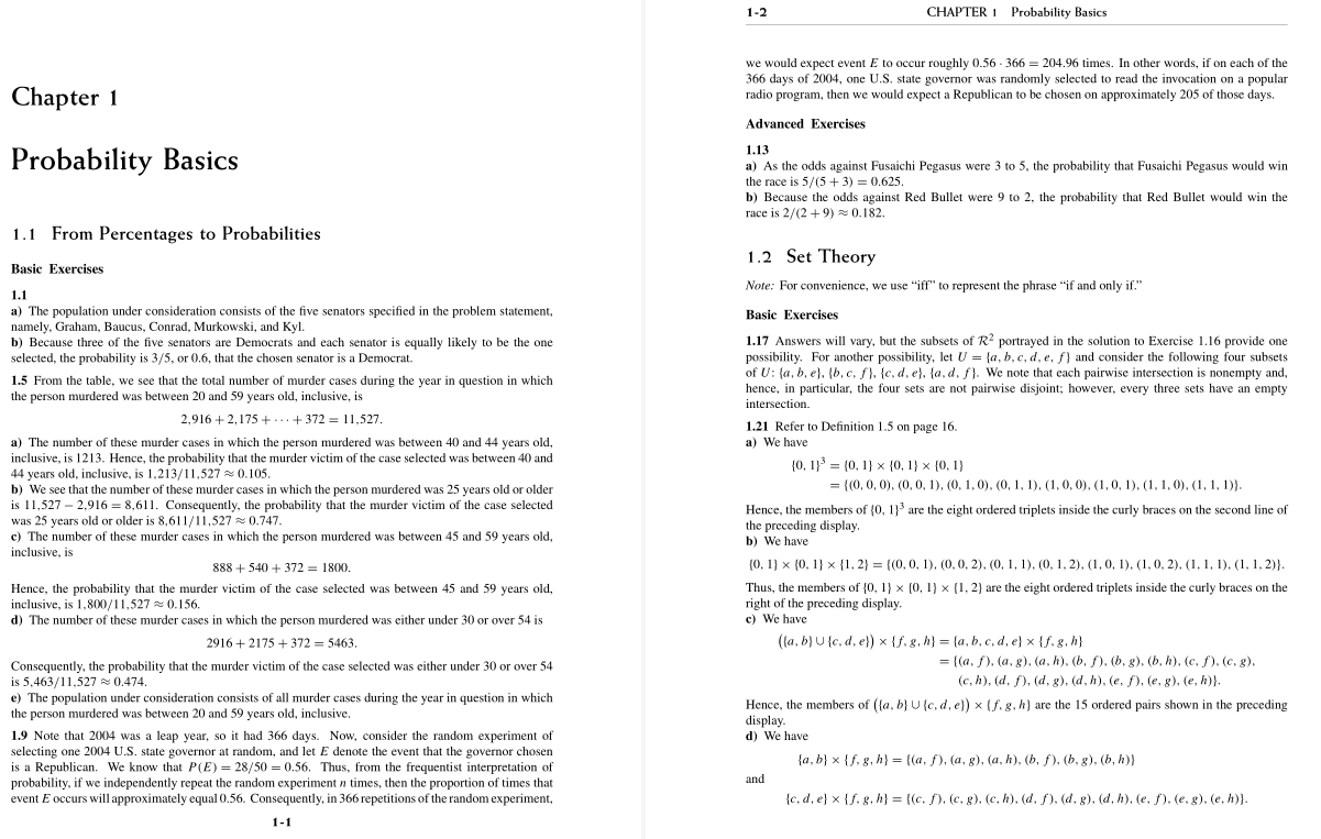 solution manual for A Course in Probability 1st Edition的图片 3