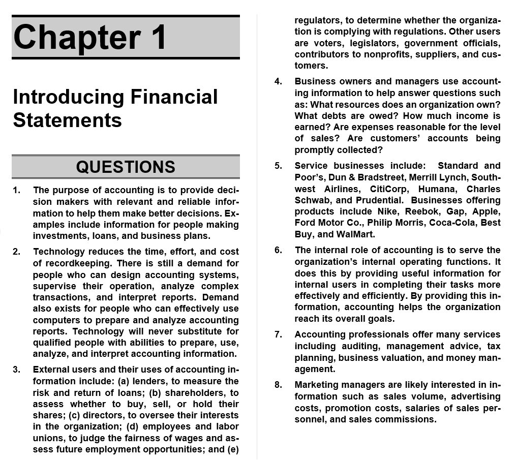 solution manual for Financial Accounting: Information for Decisions 9th Edition的图片 3