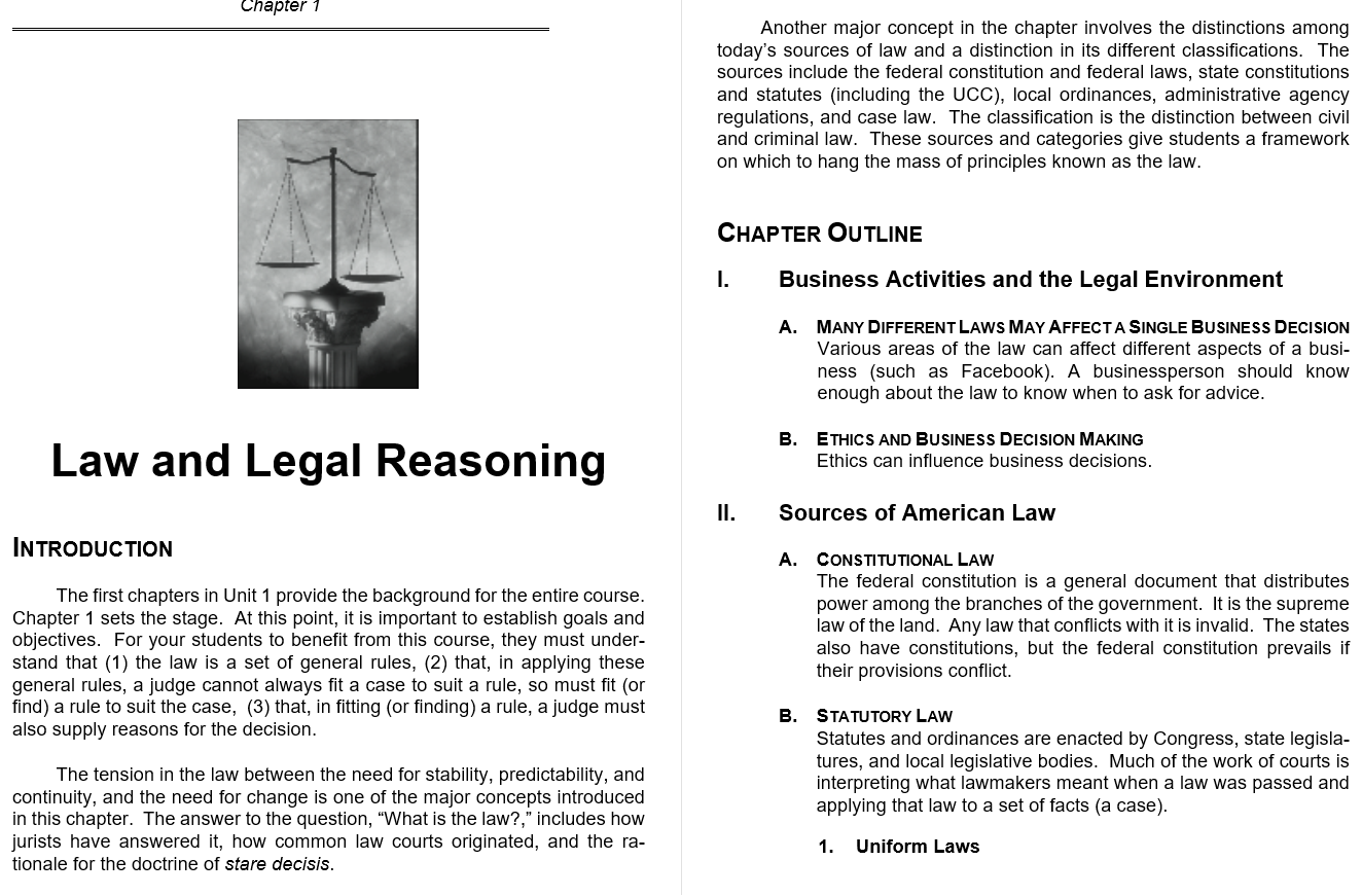 solution manual for The Legal Environment of Business: Text and Cases 10th Edition的图片 3